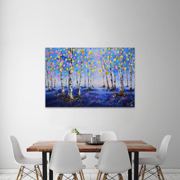 Tranh Canvas Color Trees Alila (60x90cm)
