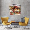 Tranh Canvas Colorful Abstract 9 Alila (40x40cm - 60x60cm)