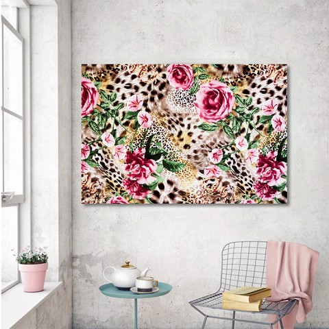Tranh Canvas Colorful Flowers Alila (30x45cm - 40x60cm - 50x75cm - 60x90cm)