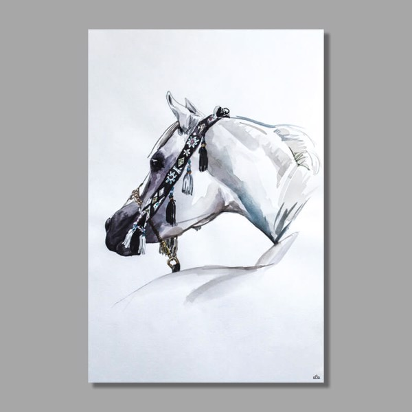 Tranh Canvas Horse Head Alila (60x90cm)