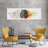 Tranh Canvas Mind Map Alila (40x120cm - 50x150cm)