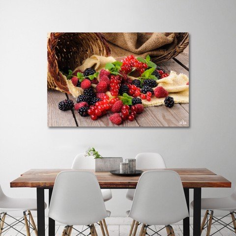 Tranh Canvas Mix Berries Alila (40x60cm - 50x75cm - 60x90cm - 80x120cm - 100x150cm)
