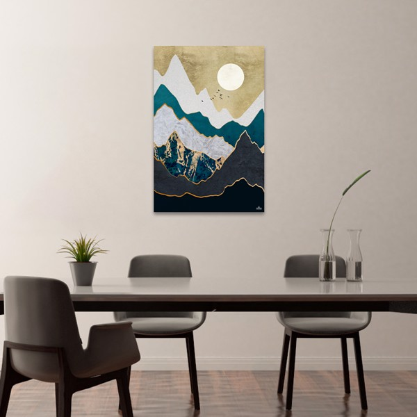 Tranh Canvas Mountain Abstract Alila (60x90cm)