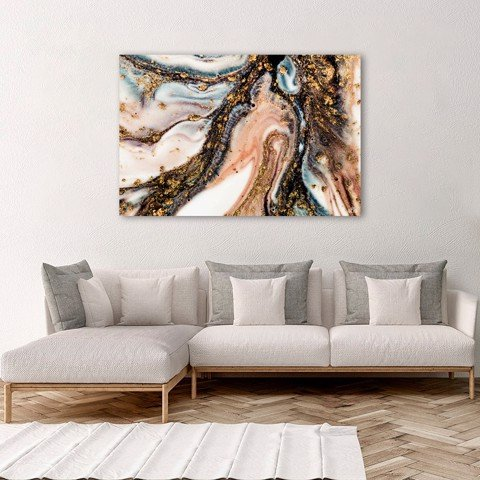 Tranh Canvas Oil Abstract 1 Alila (40x60cm - 50x75cm - 60x90cm)