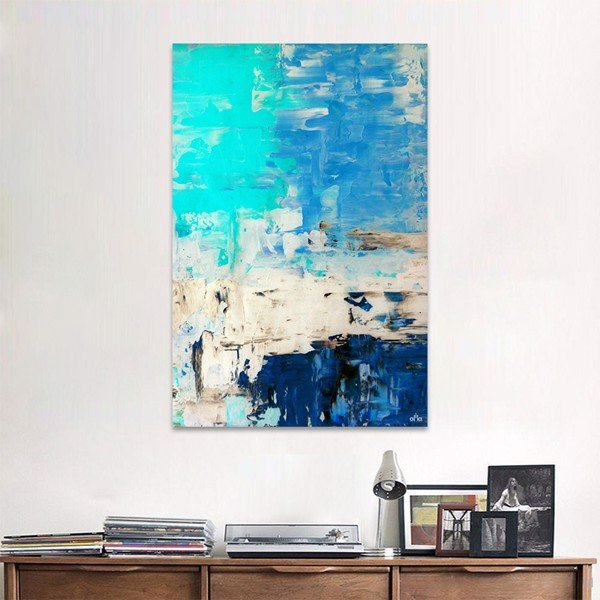 Tranh Canvas Paint Abstract Alila (60x90cm)
