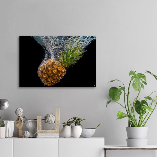 Tranh Canvas Pineapple In Water Alila (60x90cm)