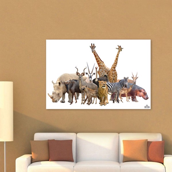 Tranh Canvas The Animals Alila (40x60cm - 50x75cm - 60x90cm)