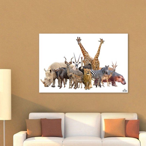 Tranh Canvas The Animals Alila (60x90cm)