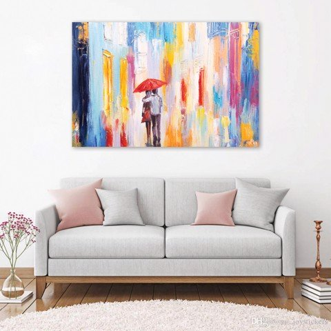 Tranh Canvas The Couple 3 Alila (40x60cm - 50x75cm - 60x90cm - 80x120cm - 100x150cm)