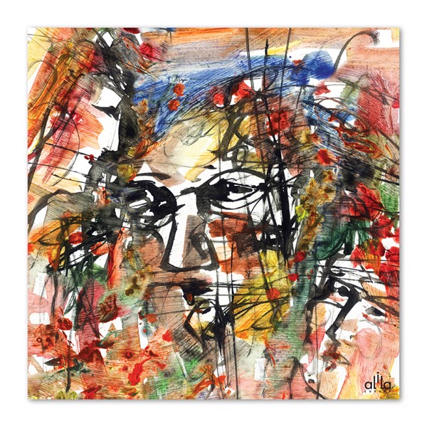 Tranh Canvas The Face Abstract 6 Alila (80x80cm - 100x100cm)
