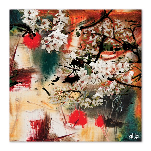 Tranh Canvas The Flower 14 Alila (80x80cm)