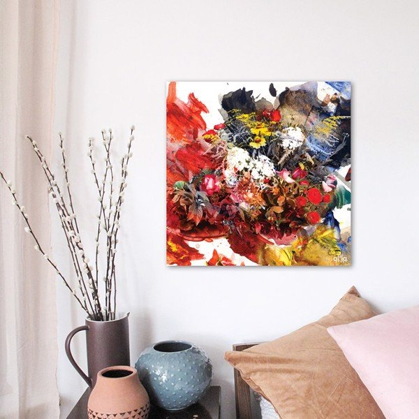 Tranh Canvas The Flower 16 Alila (40x40cm - 60x60cm)