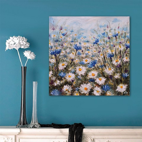 Tranh Canvas The Flower 7 Alila (40x40cm - 60x60cm - 80x80cm)