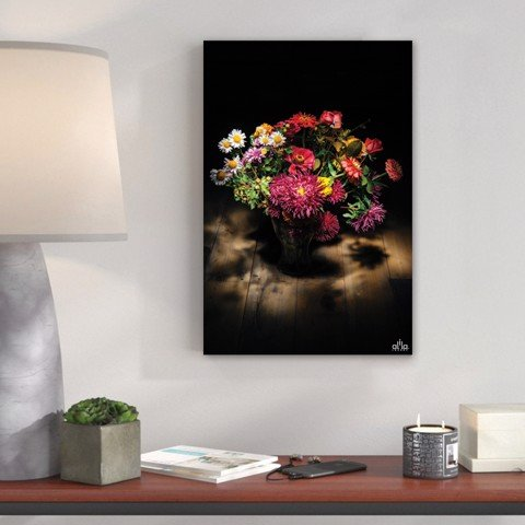 Tranh Canvas The Flower In The Dark Alila (30x45cm - 40x60cm - 50x75cm - 60x90cm)
