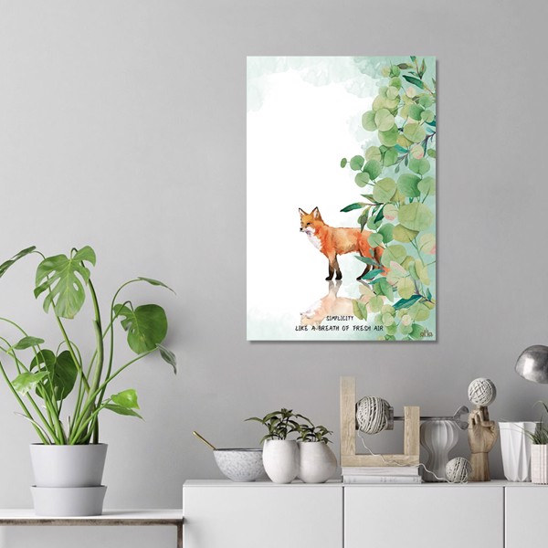 Tranh Canvas The Fox 1 Alila (60x90cm)