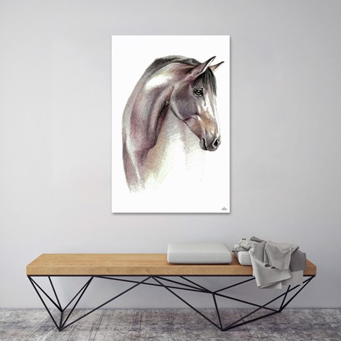 Tranh Canvas The Horse Head Alila (60x90cm)