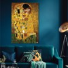 Tranh Canvas The Kiss 01 Alila (60x90cm - 80x120cm - 100x150cm)