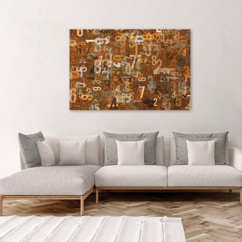 Tranh Canvas The Numbers Alila (40x60cm - 50x75cm - 60x90cm)