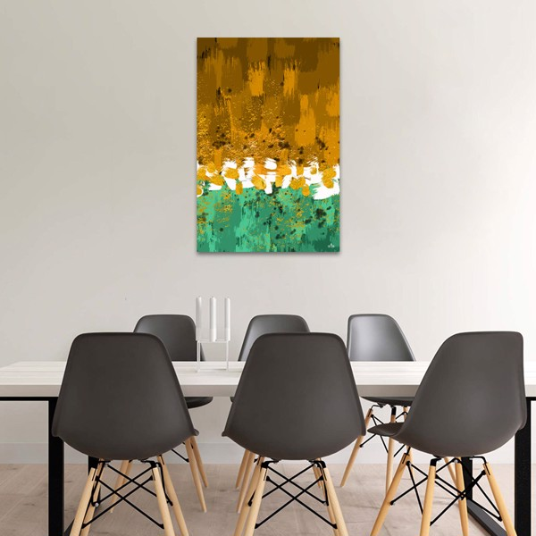 Tranh Canvas The Yellow And Green Alila (60x90cm)