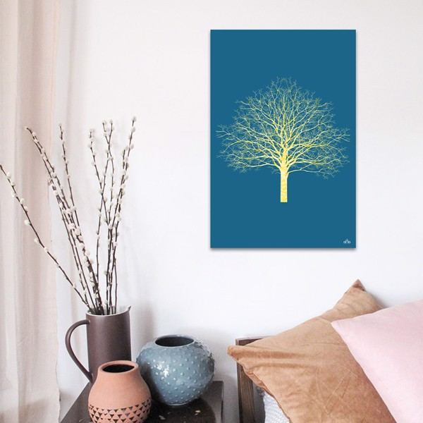 Tranh Canvas The Yellow Tree Alila (60x90cm)