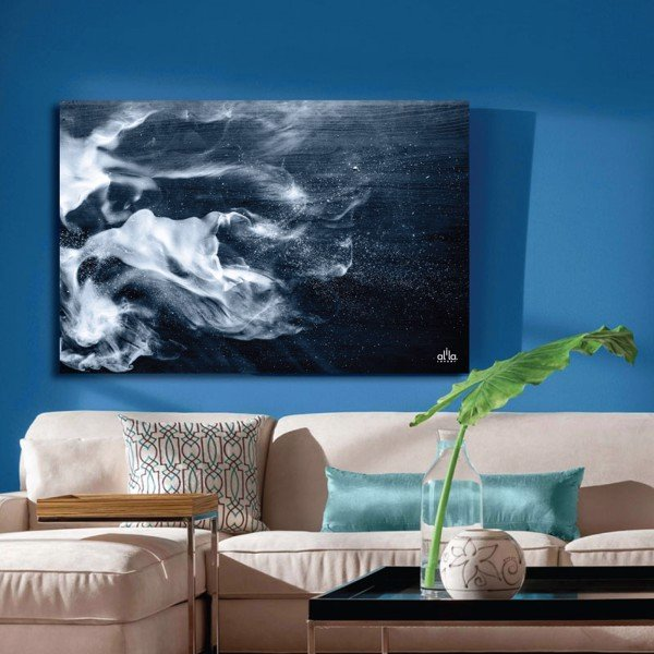 Tranh Canvas White Smoke Alila (60x90cm)