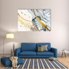 Tranh Canvas Yellow And Blue Abstract Alila (60x90cm)