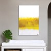 Tranh Canvas Yellow And White Abstract Alila (60x90cm)