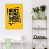 Tranh Quote Dont Judge My Choices Alila (60x90cm)