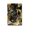 Tranh Canvas Black And Gold Alila (30x45cm - 40x60cm - 50x75cm - 60x90cm- 80x120cm - 100x150cm)