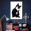 Tranh Canvas The Cat Alila (30x45cm - 40x60cm - 50x75cm - 60x90cm)
