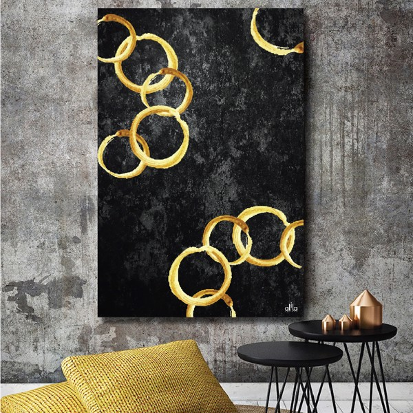 Tranh Canvas The Gold Alila (60x90cm - 80x120cm - 100x150cm)