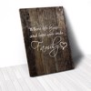 Tranh Canvas Quotes Where Life Begins Wood (40x60cm - 50x75cm - 60x90cm)