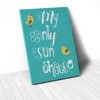 Tranh Canvas Quotes My Only Sunshine (40x60cm - 50x75cm - 60x90cm)