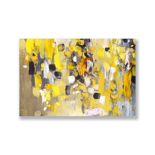 Tranh Canvas Yellow Abstract (40x60cm - 50x75cm - 60x90cm)