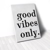 Tranh Canvas Quotes Good Vibes Only (40x60cm - 50x75cm - 60x90cm)