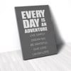 Tranh Canvas Quotes Everyday Is An Adventure Grey (40x60cm - 50x75cm - 60x90cm)