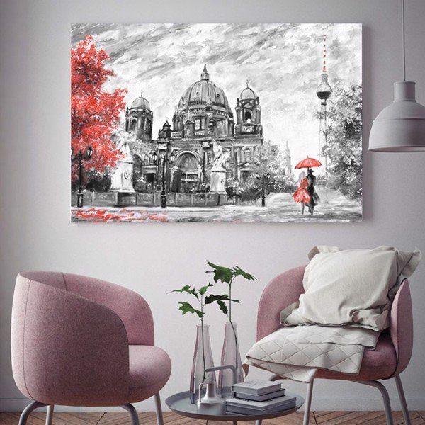 Tranh Canvas City Love (40x60cm - 50x75cm - 60x90cm)