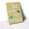 Tranh Canvas Quotes You Are My Sunshine (40x60cm - 50x75cm - 60x90cm)