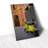 Tranh Canvas Yellow Vespa (40x60cm - 50x75cm - 60x90cm)