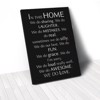Tranh Canvas Quotes In This Home Black (40x60cm - 50x75cm - 60x90cm)