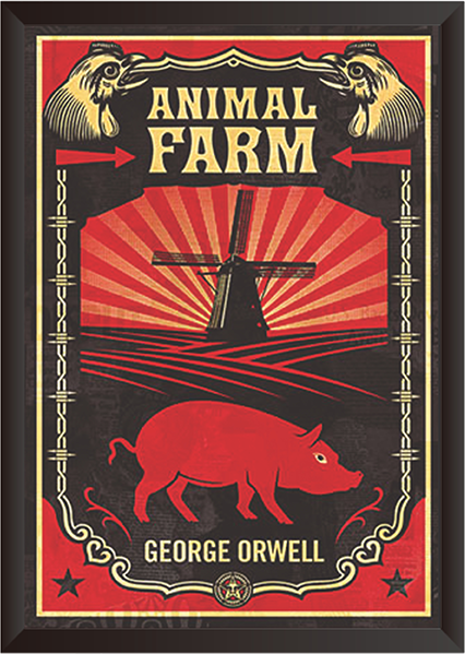 Tranh In Canvas: Animal Farm