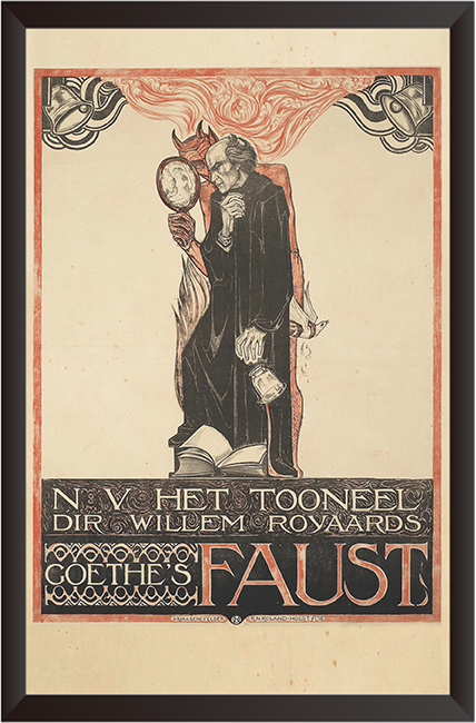 Tranh In Canvas: Faust