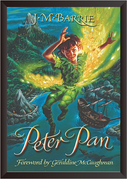 Tranh In Canvas: Peter Pan