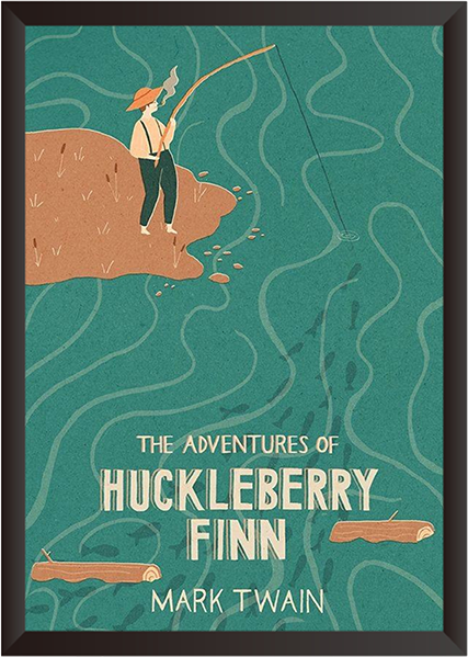Tranh In Canvas: The advantures of Huckleberry Finn