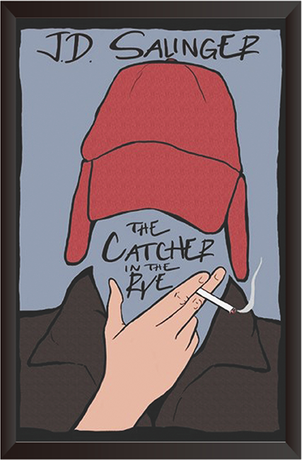 Tranh In Canvas: The Catcher in the rye
