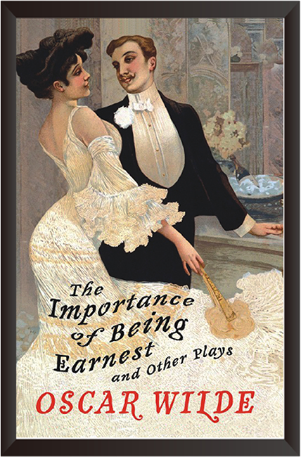 Tranh In Canvas: The importantce of Being Earnest