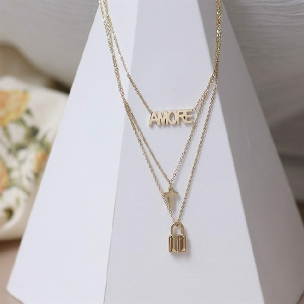 AMORE Necklace (Silver)