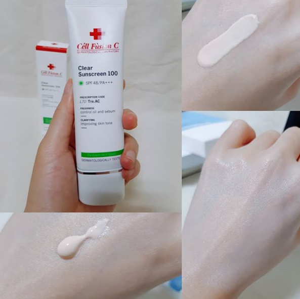 Kem chống nắng Cell Fusion C Clear Sunscreen 100 SPF48/PA+++ 50ML