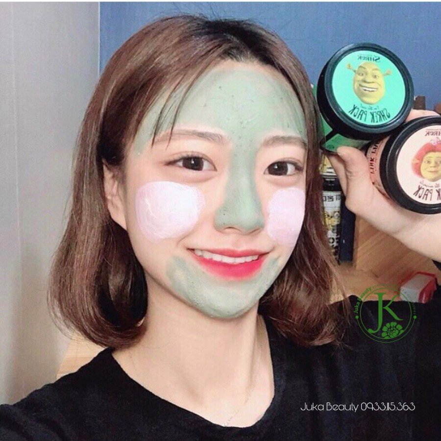 Mặt nạ đất sét Olive Young x Dreamworks I'm The Miracle Fiona Pink Pack 100g