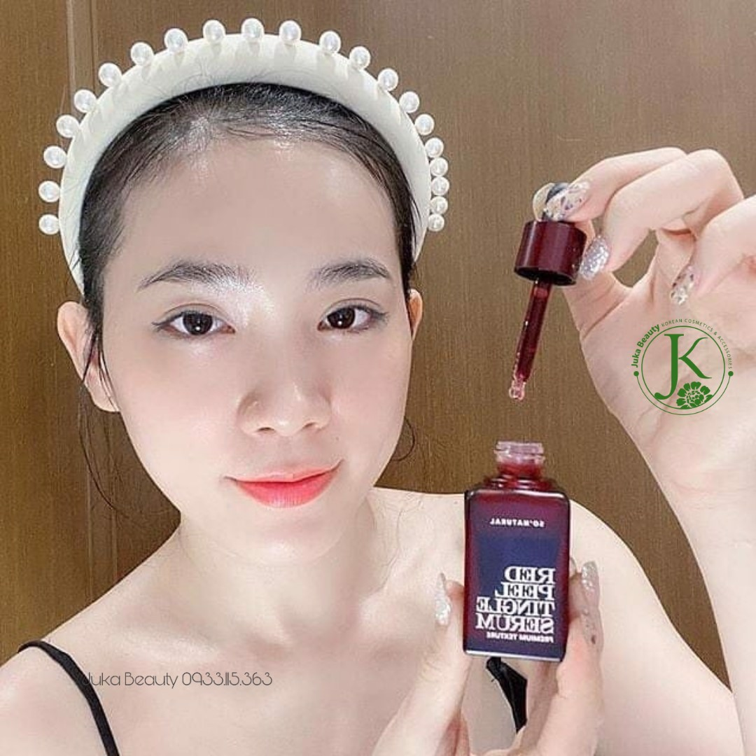Tinh chất tái tạo da So'Natural Red Peel Tingle Serum Premium Texture 20ml